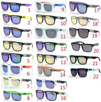Wholesale models SPY KEN BLOCK HELM Cycling Sports Sunglasses Outdoor Sun glasses Brand Black Skin Snake SPY OPTIC HELM Ken Block AAA