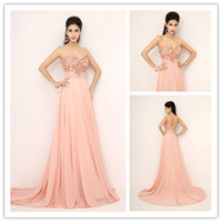 Best Selling 2015 Spaghetti Strap Coral Prom Dresses Evening...