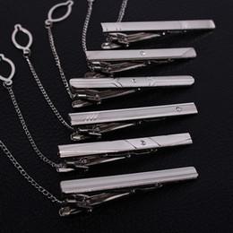 Corbata tono Plata Clamp joyería negocio de la decoración Tie Clip Venta caliente simple fuente de la fábrica
