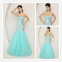 New Collection 2015 Sexy Sweetheart Prom Dresses Crystal Seq...
