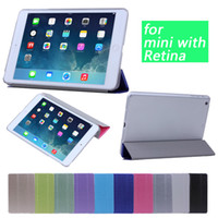 Folding Folio Case 8'' For Apple Multi colors Thin Magnetic Leather Smart Case Cover Back Cover For iPad Mini Retina Cheap Price