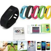 Wholesale SH01 Healthy Bracelets Bluetooth Smart Silicon Wristband Pedometer Monitoring Sleep Fitness Bluetooth EDR Smart Watch