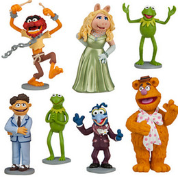 Wholesale 40sets Anime Cartoon The Muppets PVC Action Figure Model Toys Dolls set Christmas Gift Child Toys