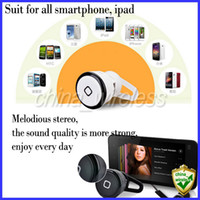 For Apple iPhone YE-106S 5 colors 1PCS World Smallest Bluetooth Earphone YE-106S V3.0 Wireless Mini Stereo Music And Call Phone Headset For moblie Phone iPhone Samsung Galaxy