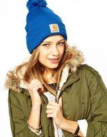 Wholesale New Arrivel Carhartt Pom Pom Beanie Hat Cap Sale Popular Carhartt Beanies With Pom Winter Hats Skull Caps Online Mix Order