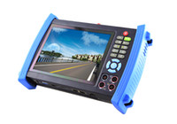 cctv ptz - 7 quot IP CCTV tester monitor ip adress and analog cameras testing PTZ control V2A output wire tracer POE test