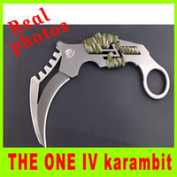 Fixed Blade best folders - Promotion THE ONE IV karambit Doomsday Devil III Folding knife tactical folder knife hunting knife best christmas gift L