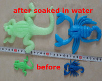 5-7 Years best expansion - Best Gift Soaking expansion animals will grow up in water animal Sea baby tape toys for children
