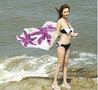 Wholesale DIHAO Sexy Pareo Dress Sarong Bikini Cover Ups Scarf Wrap Swim swimwear Beach Beautiful Charming Colors