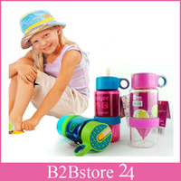 400- 500ml Kids Lemon Cup Citrus Zinger Juice Water Bottle Fr...