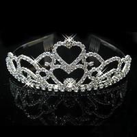 Headbands Silk Flower  Wedding Bridal crystal veil tiara crown headband 844