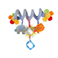 0-12M Multicolor Metal Free shipping 2014 New brand multifunctional baby bed hanging car hanging newborn babay toy Cheap Baby Rattles #7 SV000340
