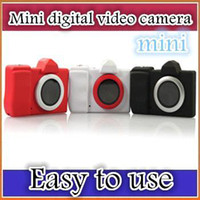 Wholesale DHL Mini micro DC children camera digital camera taking pictures fool DV video camera