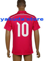 Customized 14- 15 Season #10 James Rodríguez Men ' s Jers...