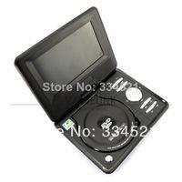 Wholesale Quality quot Portable DVD Player LCD Screen RMVB MP3 MP4 USB TV Car FM TXT Function MP0212