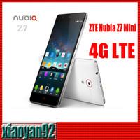 Cheap WCDMA TE Nubia Z7 mini Phone Best Quad Core Android Quad Core