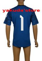 Customized Thai Quality Dark Blue Goalkeeper #1 Iker Casilla...