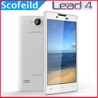 Wholesale Leagoo Lead Lead4 quot MTK6572 Dual Core G WCDMA Android Cell Phone Smartphone M G MP Android