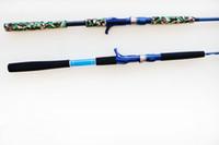 Wholesale New Brang Carbon Fiber Telescopic Protable M2SectionCasting Rods Pole Fishing Boat Rod Pole
