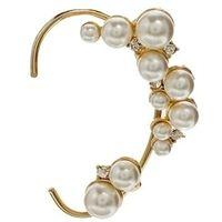 Wholesale Left Ear Wear rhinestone pearl EAR CUFF Earring Ear jewelry Unique luxurious graceful Ear cuffs ear stud earring for women Only find here