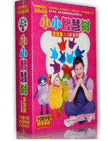 Wholesale 2014 Newest DVD Tv series quot Little tree of knowledge quot China children teaching dvd cartoon dvd fitness dvd tv show movies DHL free