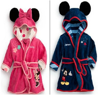 terry hooded towel - 8 OFF hot sale Hooded Cute Cartoon Terry Children s bath towel Bathrobes Comfortable Soft High quality DROP SHIPPING on sale5pcs DM