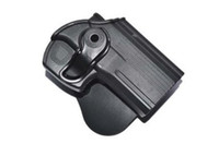 Holster China (Mainland)  Wholesale-OP-Wholesale Cytac Thumb Locking Gear Tactical Pistol Glock Holster Black Belt Gun Holster Fit for 17 19 20 21 22 All Most Pistol