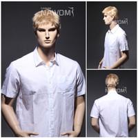 Wholesale men short blonde wigs hair wigs for men new arrival Synthetic fiber of Kanekalon pc SRT1168S T