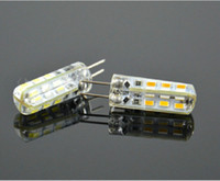 Wholesale DC12V AC220V W G4 LED Bulb Crystal Chandelier Bulb Replacements Lamp SMD LED Light Bulb Cool White Warm White