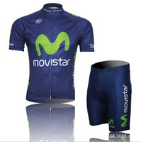 Wholesale Green M Cycling Clothing Bicycle Wear Bib Shorts Breathable Cycling Jerseys