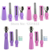 Wholesale OP Foot Cuticle Pedicure Knife Nail File Rub Feet Planer Tool Set Home Use Travel Drop Shipping