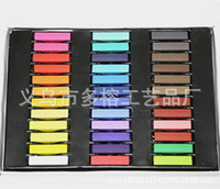 Temporary Temporary hair DUORONG Factory direct export to Europe and America D36 pastel sticks, colored chalk , coloring pens , disposable hair chalk