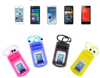 Cheap For Apple iPhone Waterproof Phone Case Best PVC Black PVC Waterproof Phone Case