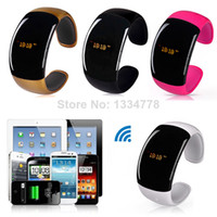 Wholesale LED Smart Watch Bluetooth Bracelet Wristwatch Smartwatch caller ID display anti lose answer hang up call b6 SV004302