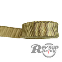 Cheap L:10m W: 5cm Titanium Color Cool It Thermo Tec Exhaust Wrap