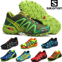 Wholesale 26 color salomon Solomon covered three generations of outdoor shoes waterproof movement cross country running shoes ventilation in summer