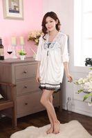 Lady' s Pajamas 2- Piece Suit Lace Lingerie Sleep Night D...