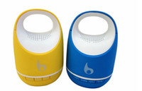Wholesale NEW ARRIVAL Partable Wireless Mini Bluetooth Bucket Speaker S05C with MIC For Mobile Phone Handsfree Music Player TF Card DHL free LY