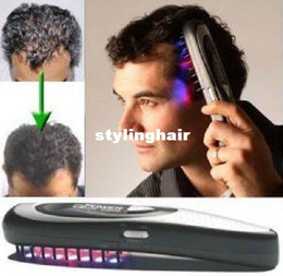 Wholesale OP Power Grow Laser Comb Kit Regrow Hair Loss Therapy Cure Restoration Comb Kit Hair Care Treatment Hairmax Laser Hair comb