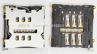 FOR LG F340 F340L D955 D958 D950 original 100pcs lot, for LG G flex F340 F340L D955 D958 D950, new Sim card reader holder socket slot connector .HK free shipping
