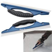 Wholesale Promotion New Soft Silicone Car Window Wash Clean Cleaner Wiper Squeegee Drying Blade Shower Kit Car Care