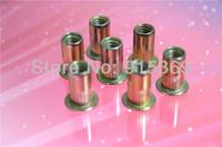 Wholesale 110pcs insert nut kit each Steel Aluminium M3 M4 M5 to M6 M8 M10 rivet nut kits Nutsert rivet nut insert nut