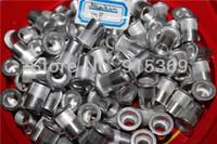 Wholesale 100pcs Aluminium insert nut M5 M6 M8 M10 Flat Head Aluminum Rivet Nut whole sales prices cheap price best quality