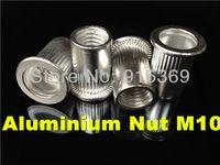 aluminum staples - M3 M4 M5 M6 M8 M10 rivet nut kits Flat Head Aluminum rivnut blind insert Best quality