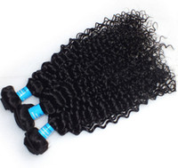 Indian Hair for black hair products - Queen Hair Products Virgin Indian Kinky Curly Human Hair Weaves Kinky Curl For Black Girl Natural Color