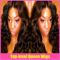 Wholesale long wavy brazilian indian malaysian peruvian virgin human hair front lace wig glueless full lace wigs for black women