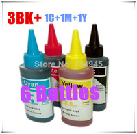 Wholesale 6bottles BK C M Y colors Premium Print Dye ink for Brother CISS cartridge desktop printer