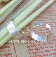 Wholesale OP pieces silver plated fashion body jewelry foot and palm carved toe rings for women x26 a
