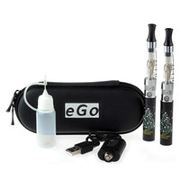 Double Black  Quit Smoking ESN-EGO Double 1.6ml CE4S Atomizers Christmas Tree Style 650mAh Rechargeable Battery Healthy Electronic Cigarette