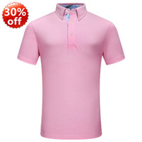 Wholesale Polo golf shirts in large size T shirt in men s clothing short sleeve hot selling new in fashion mens sports t shirts